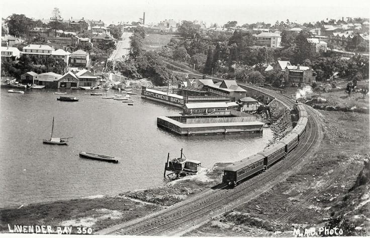 Lavender Bay in northern Sydney in the early 1900s.