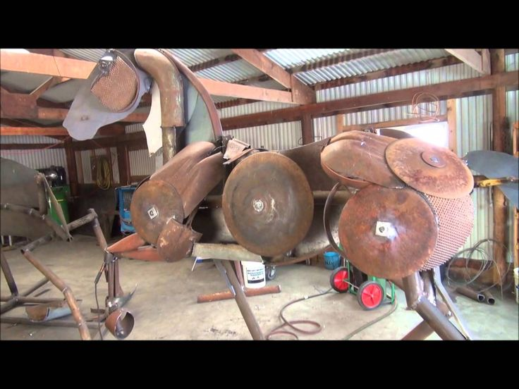 Best JOHN LOPEZ METAL ART Images On Pinterest Horse Art - Artist creates incredible sculptures welding together old farming equipment