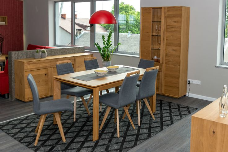 S61 chairs desinged by Klose, cosy, modern perfect for dining room. #KloseFurniture #modernchair #woodenchairs