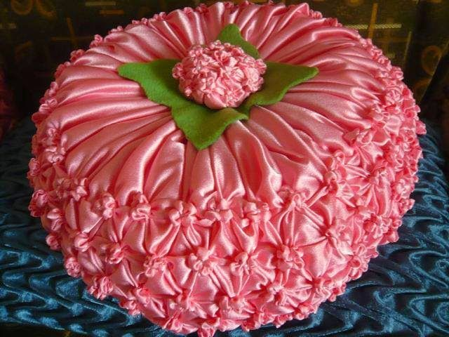 Hola Manola Capitone: Cojin flor de hortensia