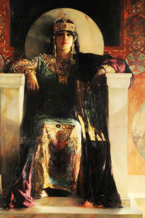 Empress Theodora (1887), Jean-Joseph Benjamin-Constant #painting