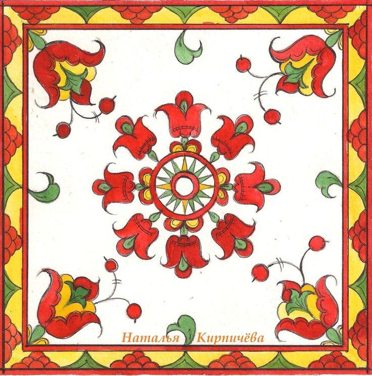 Permogorka (Russian folk art) Album.