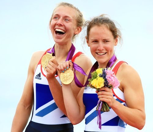 Team GB Medals 2012        25. Sophie Hosking and Katherine Copeland - GOLD  (Rowing: Women's Lightweight Double Sculls)