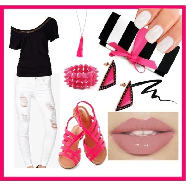 Pop Of Pink Neon