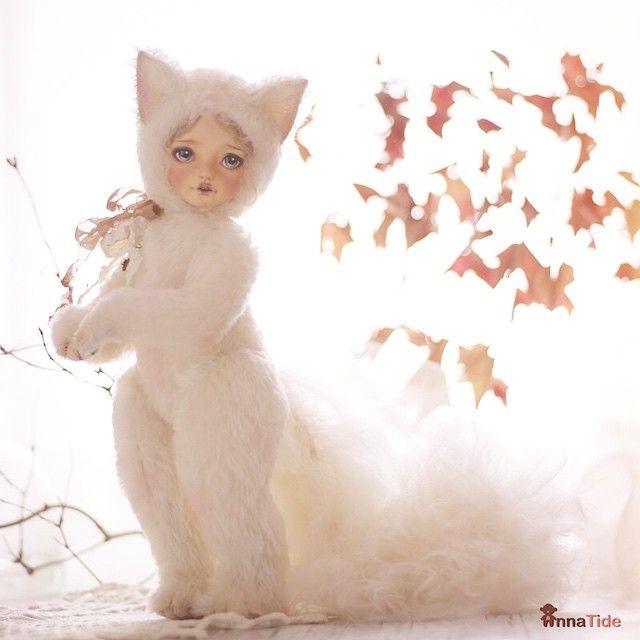 Have a beautiful day! ❤️ (#Teddydoll Sintia is #adopted) ☺️#annatide #teddy…