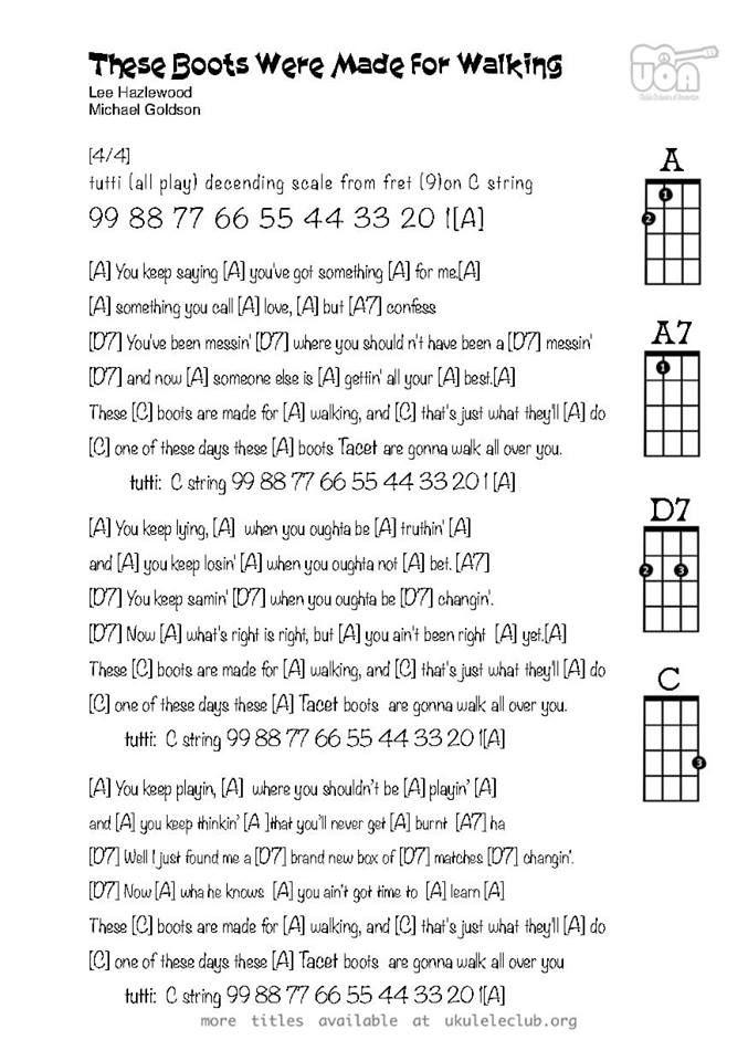 Pin By Jh On Choir Music Guitar Chords And Lyrics Ukulele Songs Beginner Ukulele Songs