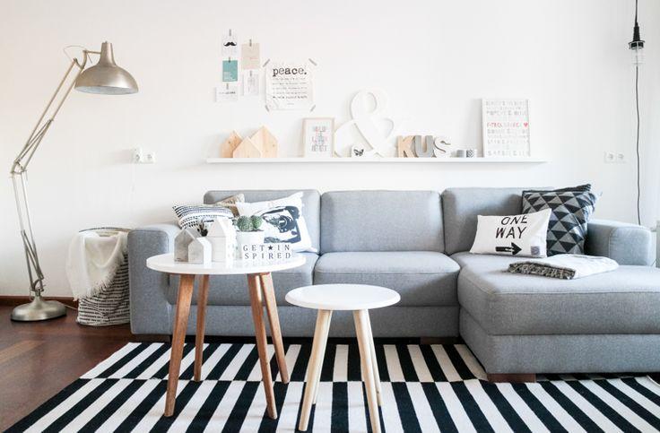 Interieur inspiratie: 18 prachtige Scandinavische woonkamers. Doe inspiratie en ideeën op voor je eigen woonkamer met deze mooie voorbeelden en tips!