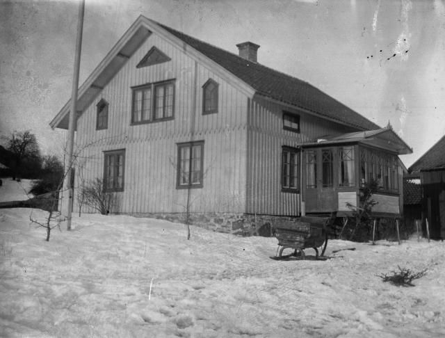 Mitt hus! Bilden tagen 1917 , Nordgård
