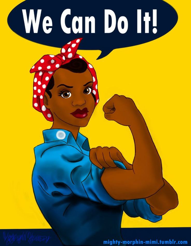 We Can Do It! Commission by Mighty-Morphin-Mimi #rosietheriveter