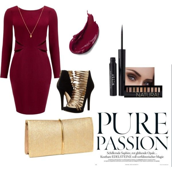 """Outfit para Año Nuevo 2015"" by christinegonzl on Polyvore"
