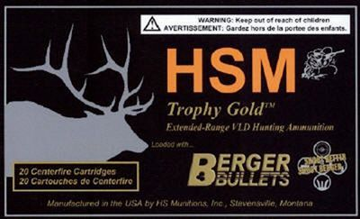 HSM Trophy Gold Centerfire Rifle Ammo - .243 Winchester - 87 Grain - 20 Rounds #Ammunition #Ammo #CheapAmmo #CheapAmmunition