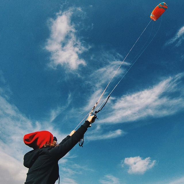 Kiting Experience! #kite #adventure #kiting