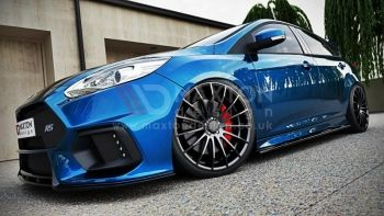 Auto Specialists - Maxton Design - Side skirt splitters Ford Focus MK3 ST