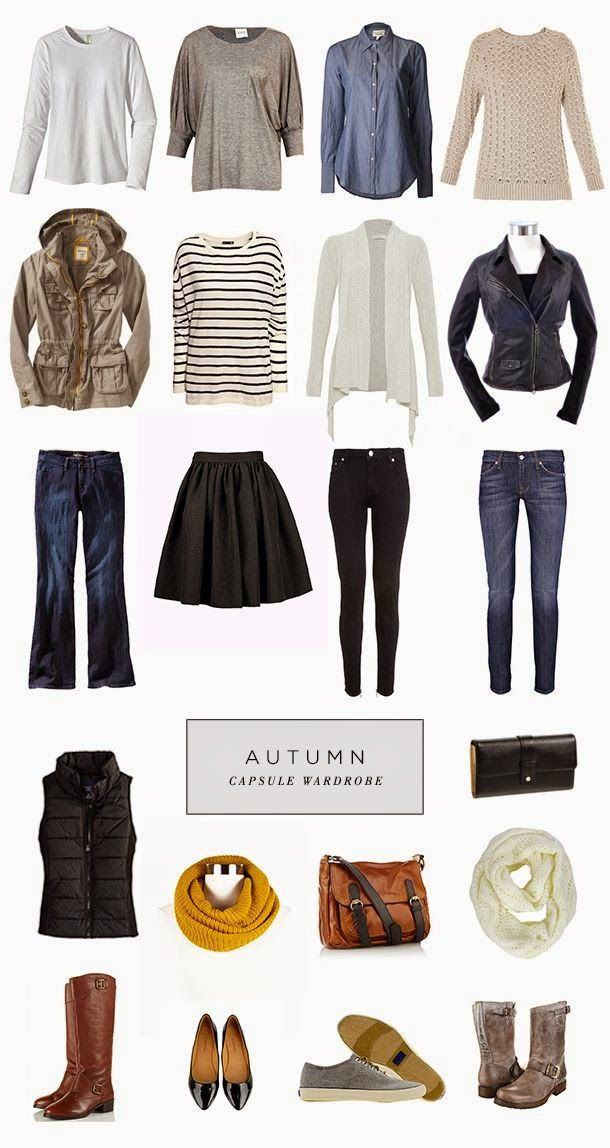 Fall Capsule Wardrobe From H M: Fall, Winter Images On Pinterest