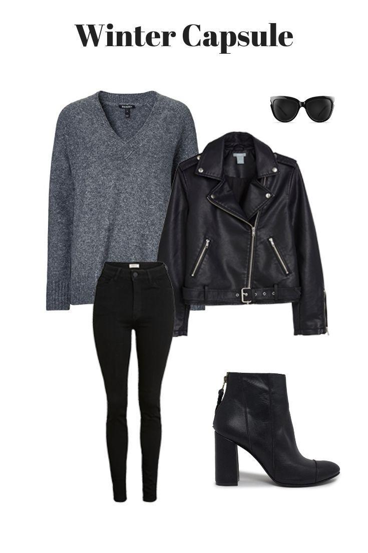 Ein einfaches Outfit für lange Wintertage. # einfach # Einfachheit # Outfit # Inspiration # Winter …