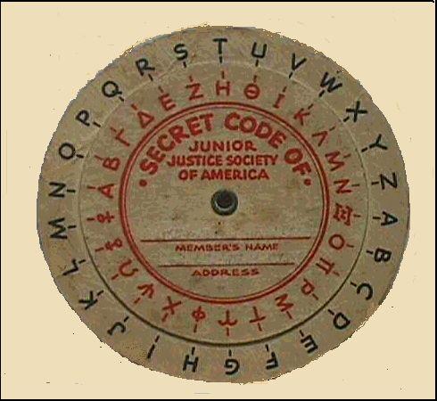 Image result for cracker jack secret decoder ring