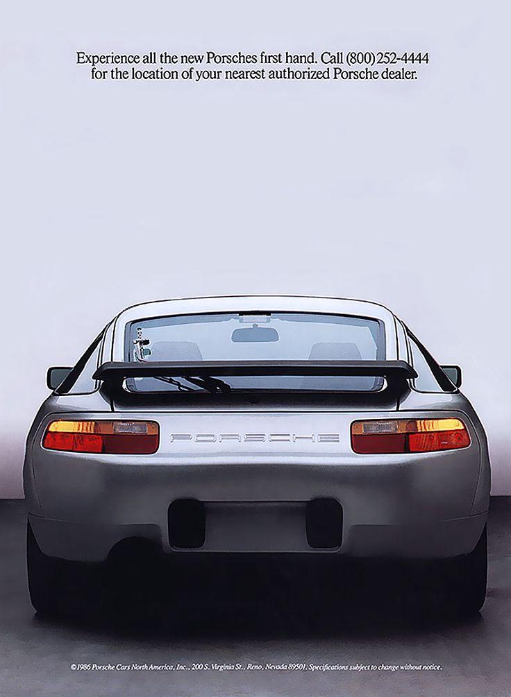 Porsche 928 ad