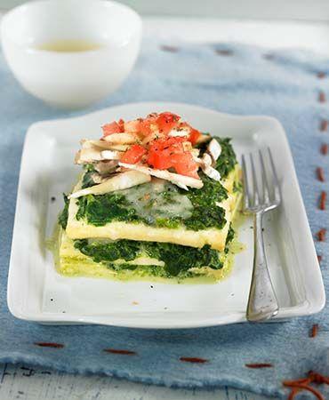 ... & Vegetarian | Pinterest | Spinach Lasagna, Tofu Noodles and Tofu