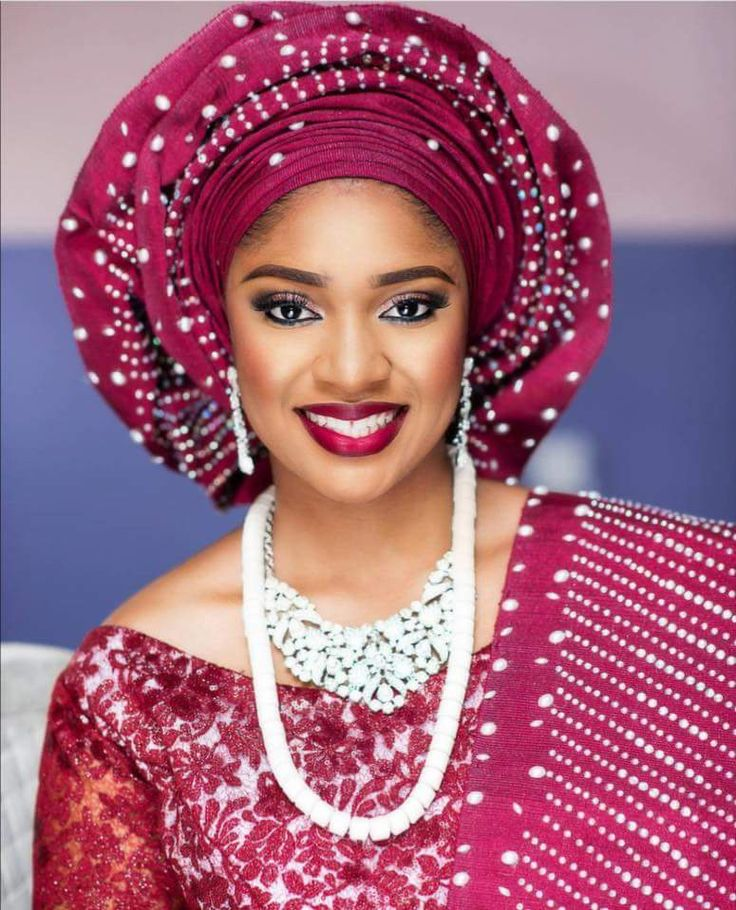 Traditional Yoruba Wedding Attire