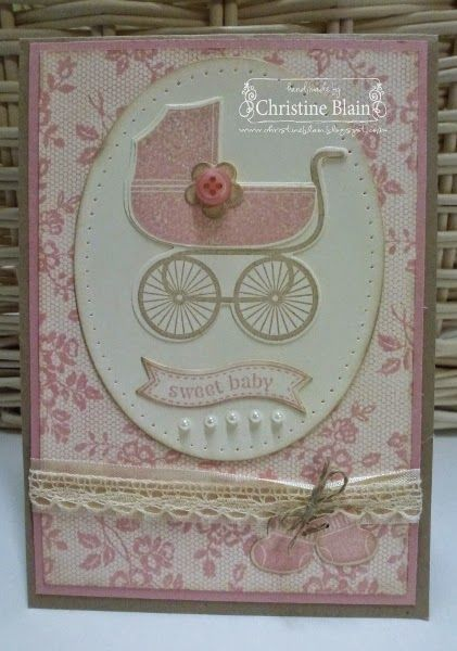HAPPY HEART CARDS: JAI #234: JUST ADD BABY