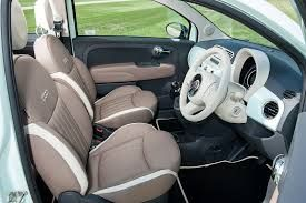 Image result for fiat 500 lounge interior colours