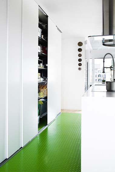 Green floor. Photo by Kristiina Kurronen