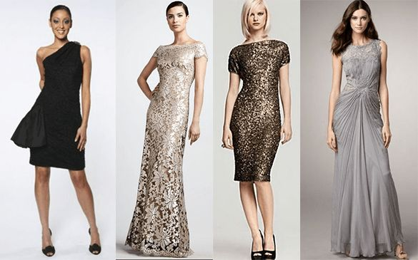 When brides say black tie they want to look out at a for How to dress up a black dress for a wedding