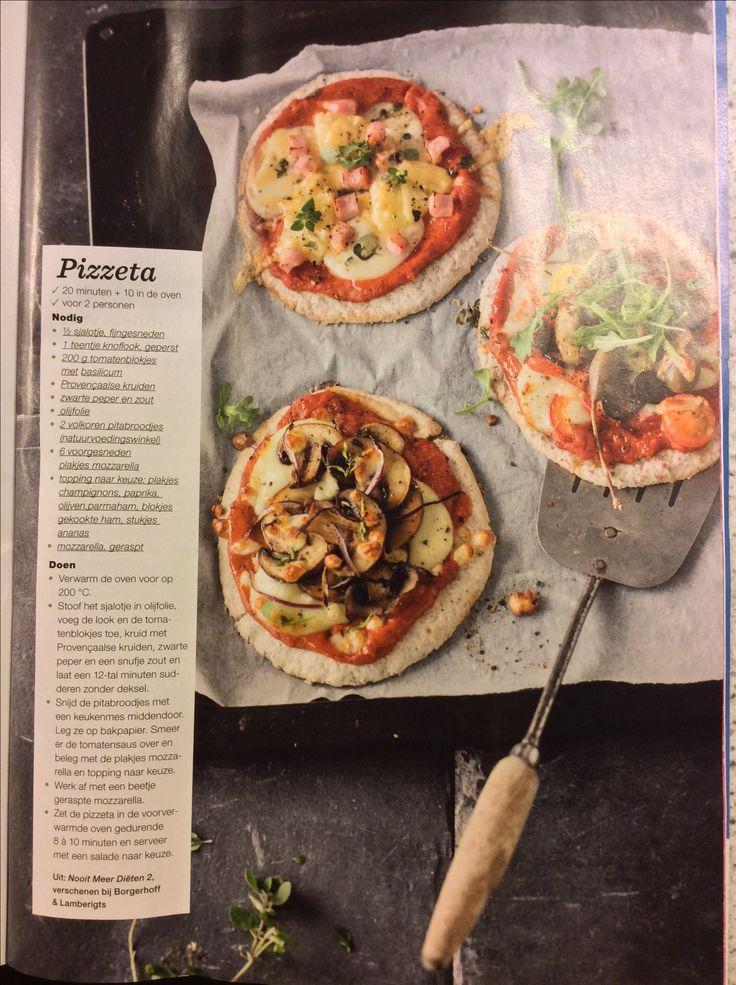 Pizzetta Sandra Bekkari- Nooit meer diëten