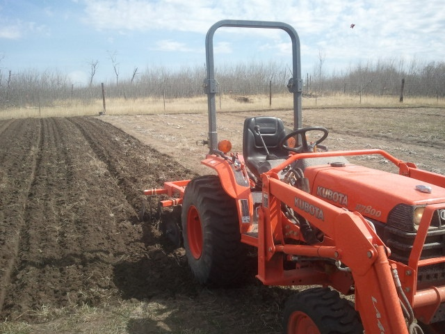 Getting ready for spring - Paul's Farm SK