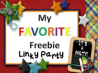 My Favorite Freebie Linky Party