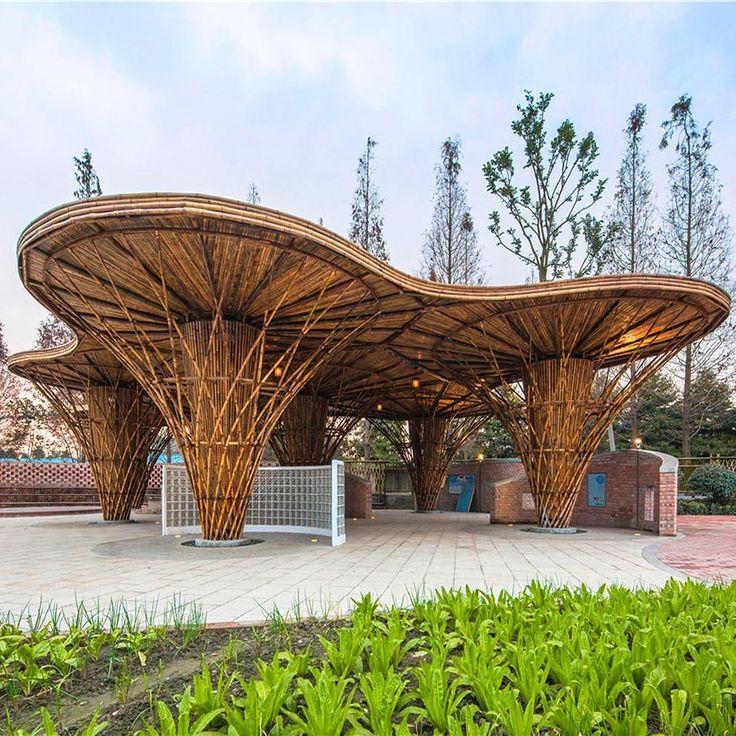 """938 Likes, 3 Comments - Arkitera (@arkitera) on Instagram: """"Atelier REP'in tasarladığı bir """"canlandırma"""" projesi olan Bambu Bahçe, yerel bir mandıranın sahip…"""""""