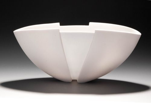 """Contemporary Ceramics - """"Power Line Cut"""" (Original Art from Carol Snyder)"""