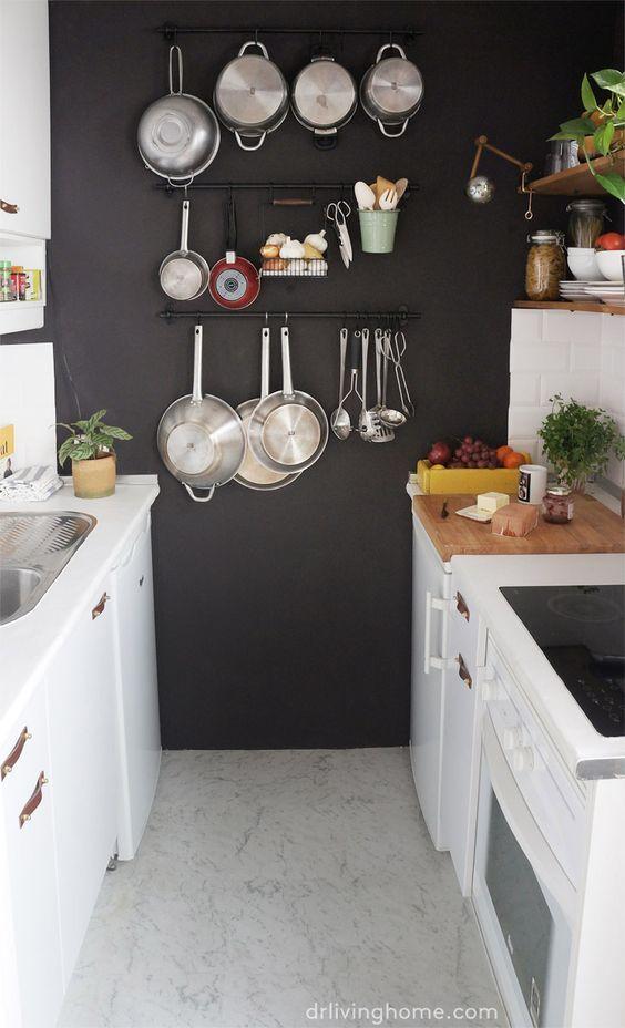 20 cocinas muy pequeñas con grandes trucos de espacio y decoración