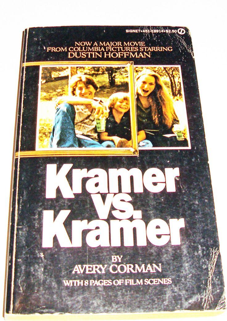 Kramer vs Kramer by BookItVintage on Etsy