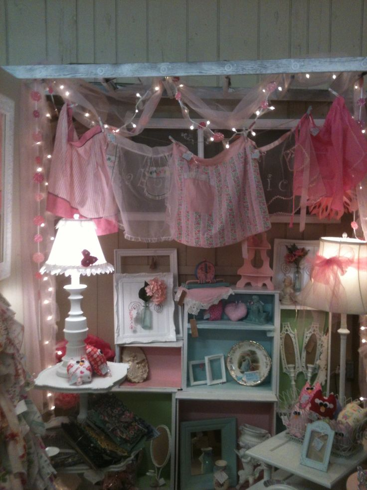 Shabby Chic Booth Antique Booth Display Ideas