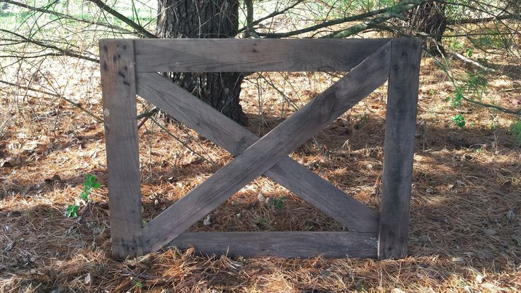 Rare Primitive Wormy Chestnut Barn Stall Gate - Vintage by HickmanCemeteryRoad on Etsy