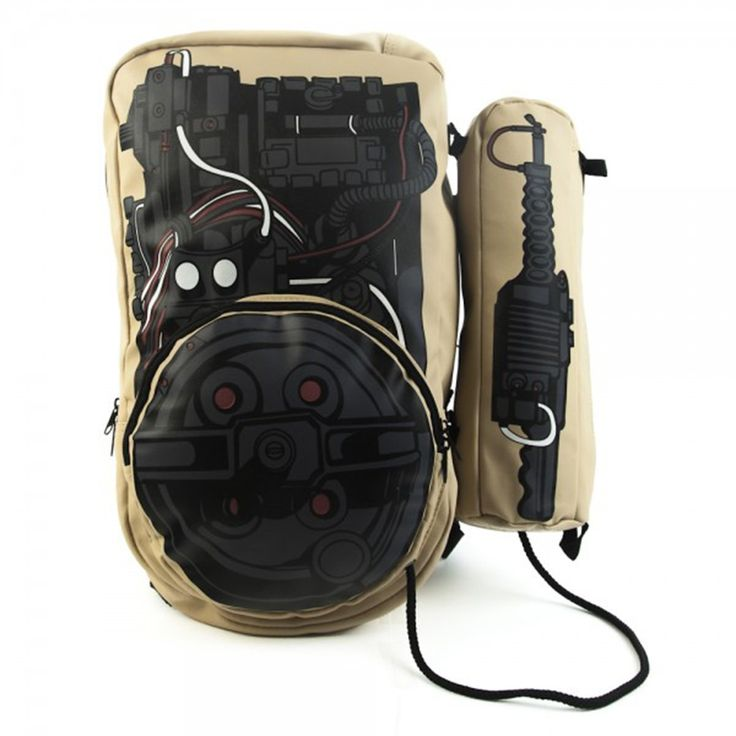 Who you gonna call? Me of course. Because I know own a Ghostbusters backpack.