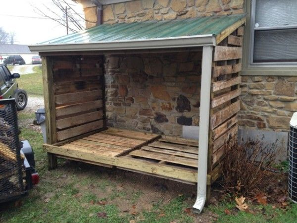 Diy Lean To Wood Shed Farm In 2019 Wood Shed Diy Shed
