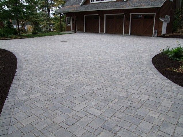 63 best outside images on pinterest for Tile driveway