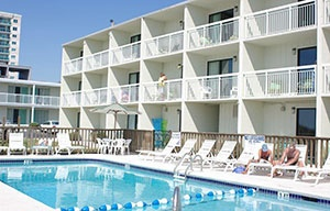 By the Sea Motel in Myrtle Beach, South Carolina is a classic!