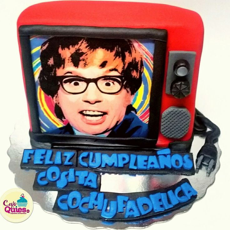 Tv cake Austin Powers