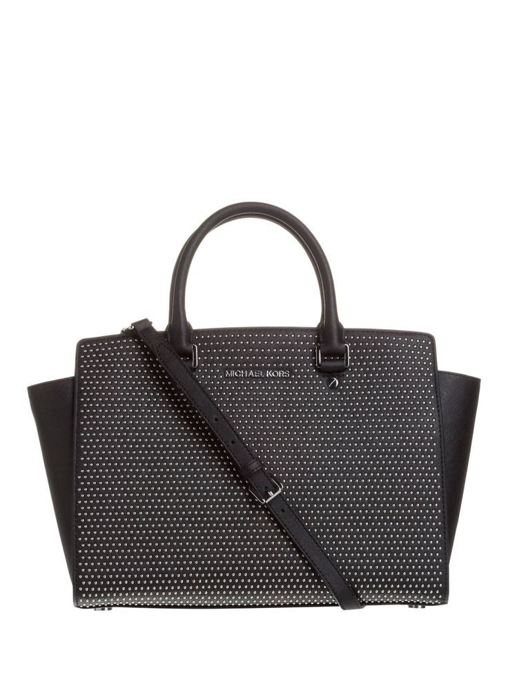 michael michael kors trapez tasche selma micro stud taschen pinterest michael kors. Black Bedroom Furniture Sets. Home Design Ideas