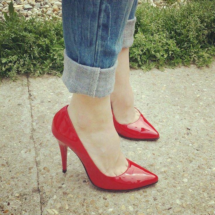 #Red Stiletto www.nicolasshoes.com