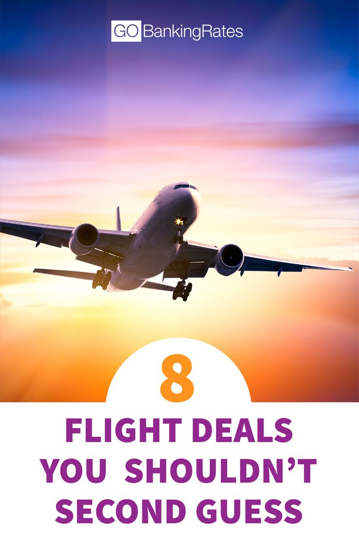 Click through to see which 8 flight deals you shouldn't second guess. Sometimes, it's better to just book the flight!