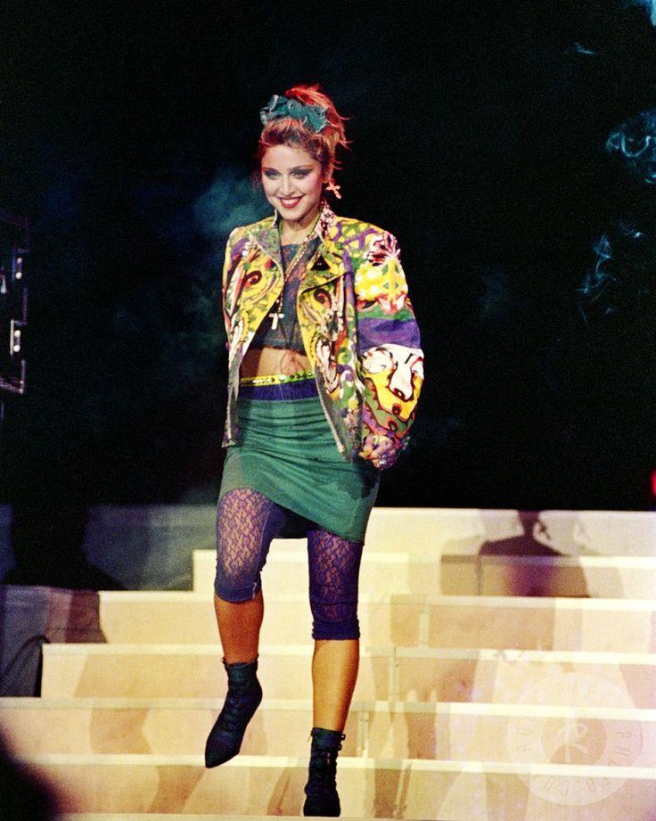 Madonna Ciccone : Photo Adoro the virgin tour era!!!
