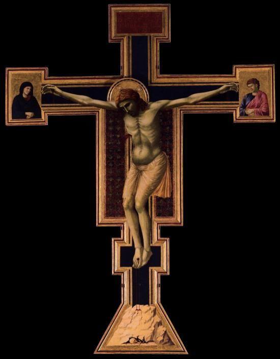Giotto, Crocifisso di Santa Maria Novella, 1295-1300