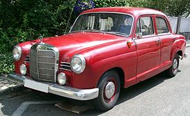 Mercedes-Benz W120, wider grill – 1960