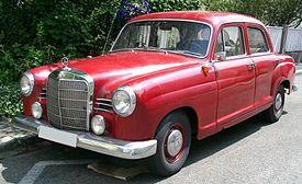 Mercedes-Benz W120, wider grill – 1960