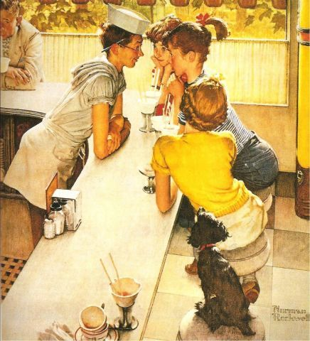 101 Best Images About Norman Rockwell 39 S Art On