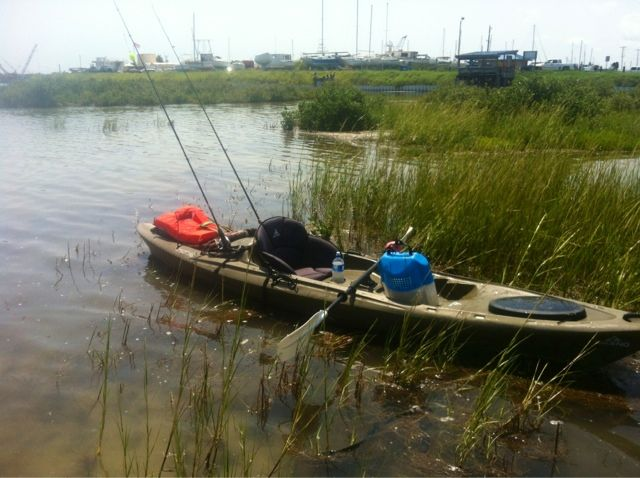 3rdCoastKayakfishing: The first time...